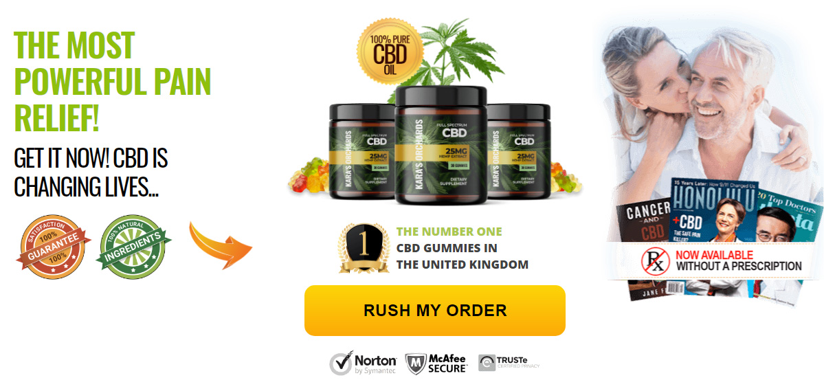 Karas Orchards CBD Gummies UK